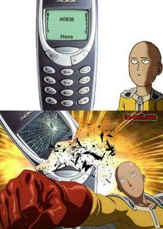 Saitama vs Nokia