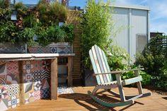 Une cuisine extérieure sur les toits de Paris