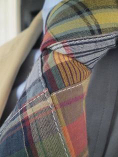 I looove this madras tie. I wonder if I could get Mr. Coco of Summer to wear this. It's kind of casual, but I think it would be lovely for the summer.