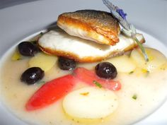 Branzino with a Vermentino veloute. Doesn't it look delicious?
