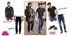 We love these handsome hunks Arjun Kapoor & Siddharth Malhotra's looks. Do You? Wear their styles to an outing and let all eyes turn back to you, shop for them at Kapsons.com #ArjunKapoor #SiddharthMalhotra #CelebStyle #Kapsons