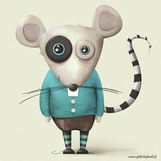 Illustration of a mouse /illustration /vector /illustratorAdobe /Painter /mouse /ilustrator