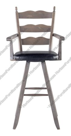 Canadel Champlain Swivel Bar Stool with Arms - STO 0764
