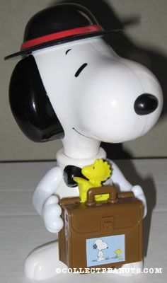 Snoopy with Briefcase