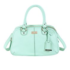 Cole Haan Village Small Satchel in mint green