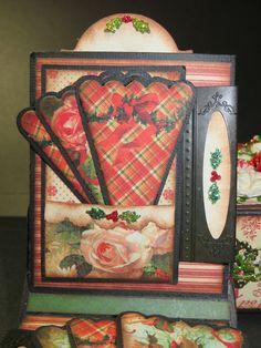 Moshie's Moments: Graphic 45 Christmas mini Match Box Album
