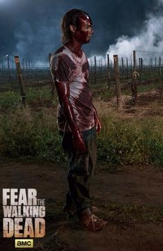 "'Fear the Walking Dead' season 2, episode 7 ""Shiva"" You really need to clean up, dude."