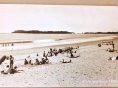 MOOLOOLABA BEACH 1920'S Sunshine Coast, Old Photos, Past, Surfing, Australia, History, Beach, Water, Bliss