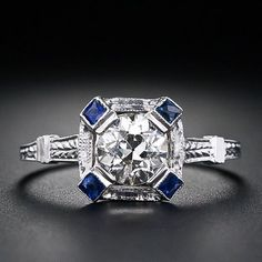 Love sapphires. Lucky to actually adore my birthstone