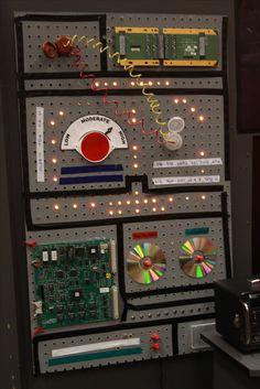 Light board/panel - command center Peg board