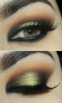 eye shadow for green eyes