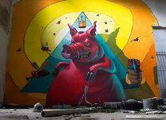 Lord of the flies by Fat Heat .hu, via Flickr