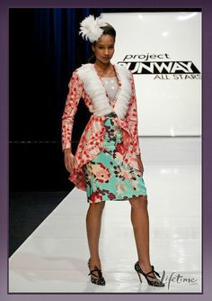 Project Runway All Stars Episode Seven: Puttin' on the Glitz. I despise Kenley and her amazingly annoying voice. But I LOVE the skirt,