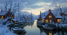 Inn by the River ~ Eugene Lushpin