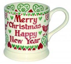 """Joy"", 1 pint personalized mug from Emma Bridgewater."