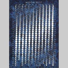 Moon 2017 Postcard