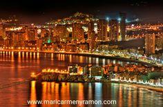 La pequeña Nueva York del Mediterráneo, Benidorm.  Cada vez tenemos más socios por aquí 👏👏🎉