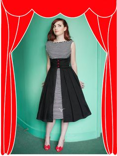 Looks like the B4790 Butterick pattern, which i totally want to make in these colors now!