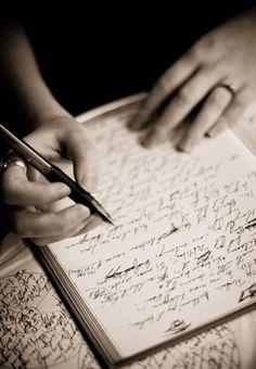 A peek inside fantasy writer Michelle Franklin's journal