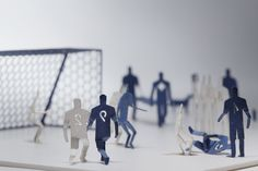 Miniature Paper Models / Terada Mokei on compann.com