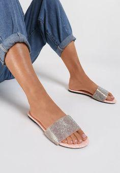Papuci dama Marado Roz Espadrilles, Slip On, Sandals, Shoes, Fashion, Espadrilles Outfit, Slide Sandals, Moda, Sandal