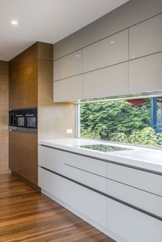 How To Incorporate Contemporary Style Kitchen Designs In Your Home Ikea Kitchen Cabinets, Kitchen Cabinet Design, Kitchen Layout, Kitchen Ideas, Modern Kitchen Interiors, Modern Kitchen Design, Interior Design Kitchen, Modern Wood Furniture, Kitchen Furniture