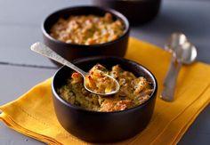Gratins de crabe au pouletVoir la recette des Gratins de crabe au poulet >>