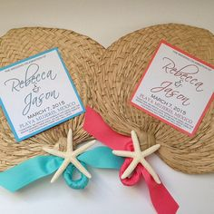 Palm Leaf Hand Fans Raffia Fans Wedding by UrbanElementsDesign