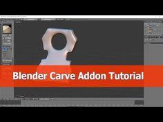 Blender Carver Addon Tutorial - YouTube by Jav AnAm