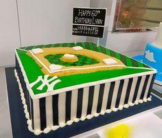 Yankees fan birthday cake!