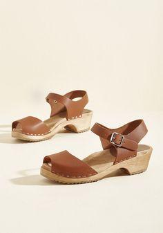 30806bbf4ee Skansen Strut Leather Clog in 8 - Mid Heel - Over 2 -3. Spring OutfitsWork  OutfitsShoes ...