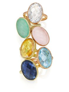 Mother's Day gift idea: Gioelli by Nikki Baker cocktail rings