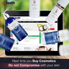 Get the best organic skin care products from QNHealth. Log on to qnhelath.com for a wide range of organic and quality skin care products. #BeautyTips #Beauty #beautyproducts #beautycream #health #quality #makeup #cosmetics #skincare #skin #products