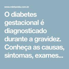 sintomas de diabetes na gravidez