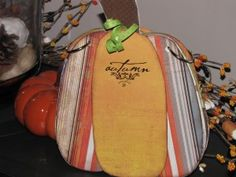 Pumpkin Mini Album - from Clean and Scentsible
