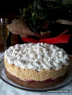 Torte Recepti, Kolaci I Torte, Baking Recipes, Cookie Recipes, Dessert Recipes, Desserts, Bread Dough Recipe, Serbian Recipes, Torte Cake