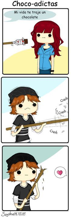 Memes Yaoi y Fujoshi Me Anime, Anime Love, Kawaii Anime, Memes Humor, Funny Images, Funny Pictures, Naha, Fujoshi, Cute Love