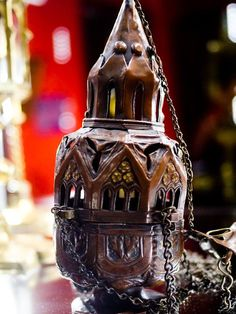 Thurible, 19 century, copper