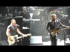 """Bruce and Sting """"Can't Stand Losing You"""" - Sting's 60th birthday, Beacon Theater, NYC, October, 2011"""