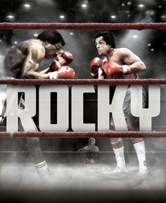 Rocky FULL MOVIE Sub English Sylvester Stallone, Rocky Stallone, Rocky Balboa Poster, Rocky 1976, Rocky Film, Creed Movie, 1976 Movies, Apollo Creed, Carl Weathers
