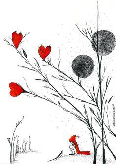 Covijada entre corazones