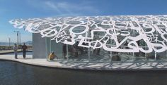 A full #typographic roof #publicart #type #typography via @tomjohn001