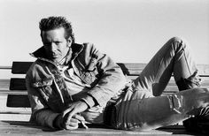 "Mickey Rourke, ""Homeboy"" by © Christophe d'Yvoire, 1987"