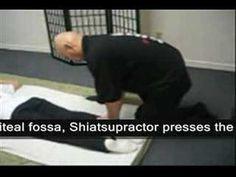 Shiatsu Demonstration 3 Prone Position (Legs) - YouTube