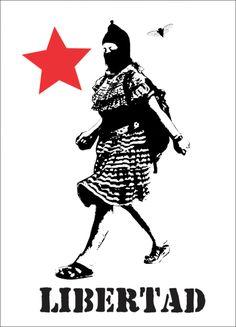 Propuesta CNI-EZLN tergiversada por teorías de la conspiración y periodismo chatarra Protest Posters, Political Posters, Political Art, Communist Propaganda, Propaganda Art, Refugees, Crust Punk, Indigenous Art, Banksy
