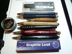 cretacolor lead holders/ fun to have and sketch with