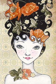 """""""Mathilda"""" by Annette Mangseth"""