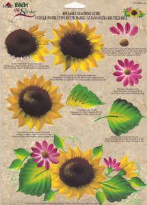 donna dewberry rtg | Sunflowers One Stroke RTG 1105 Donna Dewberry | eBay