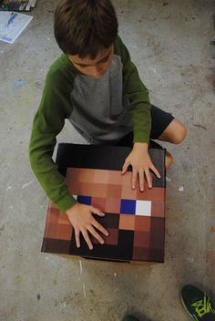 how to make a minecraft skeleton costume