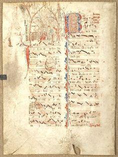 illuminated manuscript Renaissance Music, Medieval Music, Medieval Art, Illuminated Letters, Illuminated Manuscript, Early Music, Script Writing, Music Score, Book Sculpture